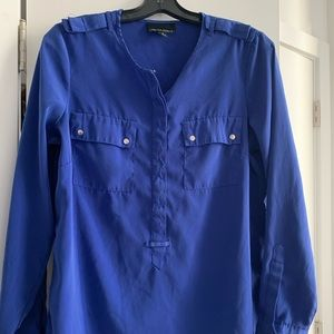 Cynthia Rowley Blue Blouse